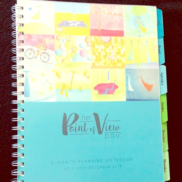 Franklin Covey Accessories Wire Bound 6 Month Planner New Poshmark